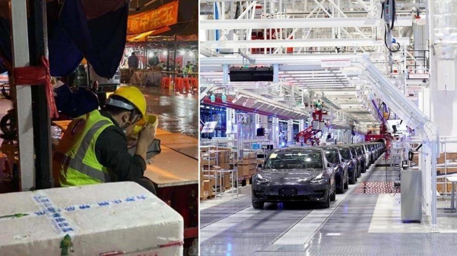 Čínska fabrika Tesly