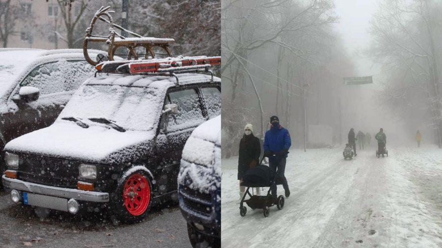 sneh lockdown bratislava