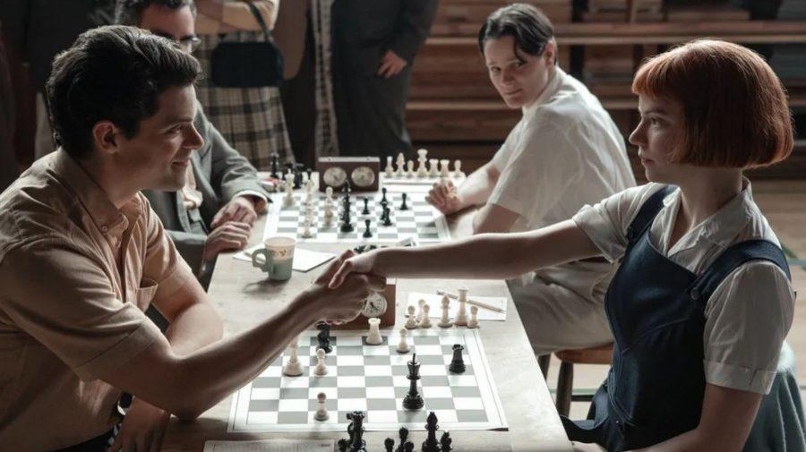 šach the queen´s gambit turnaj