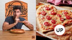 Pizza Mizza, srdcová pizza
