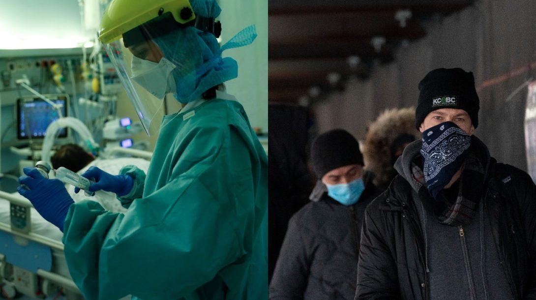 Rúško, nemocnica pracovník intubácia