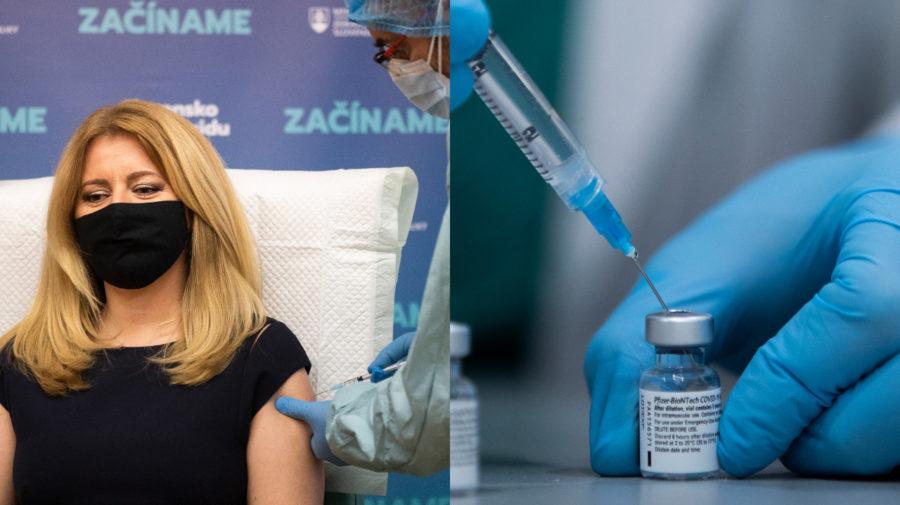 Zuzana Čaputová očkovanie