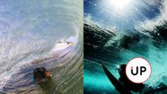 Oceán, surfovanie, fotenie