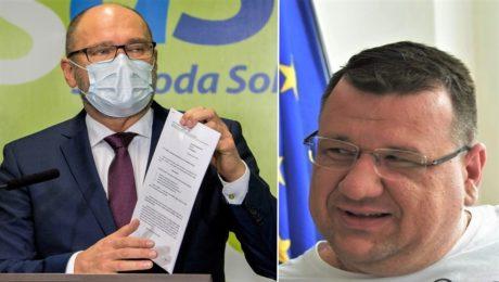 Richard Sulík a Marcel Slávik