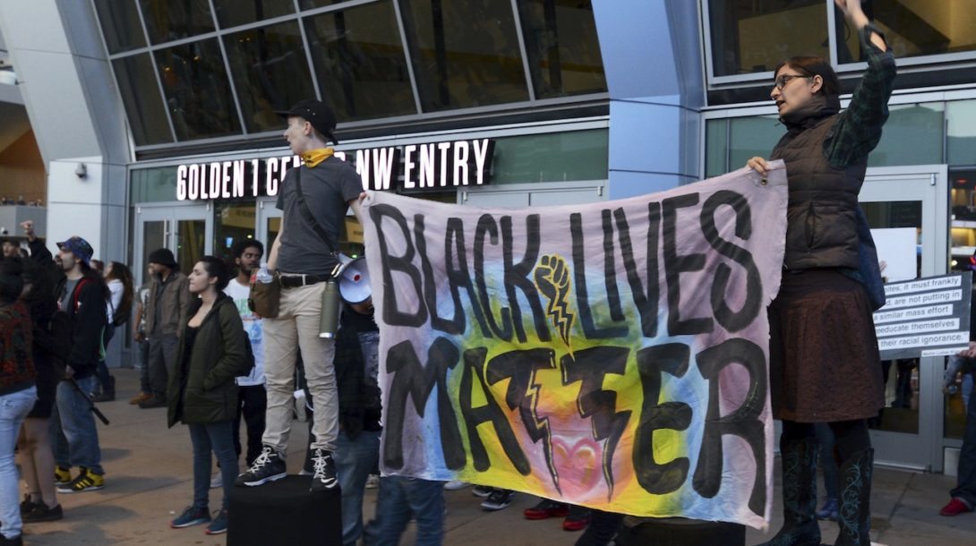 blm black lives matter protest