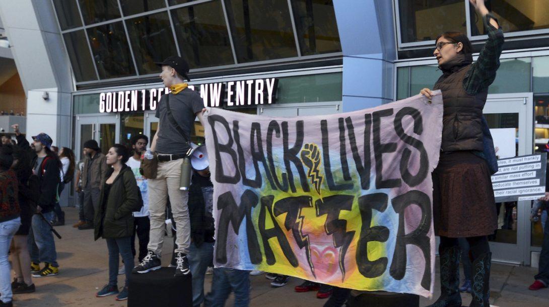 blm black lives matter protest