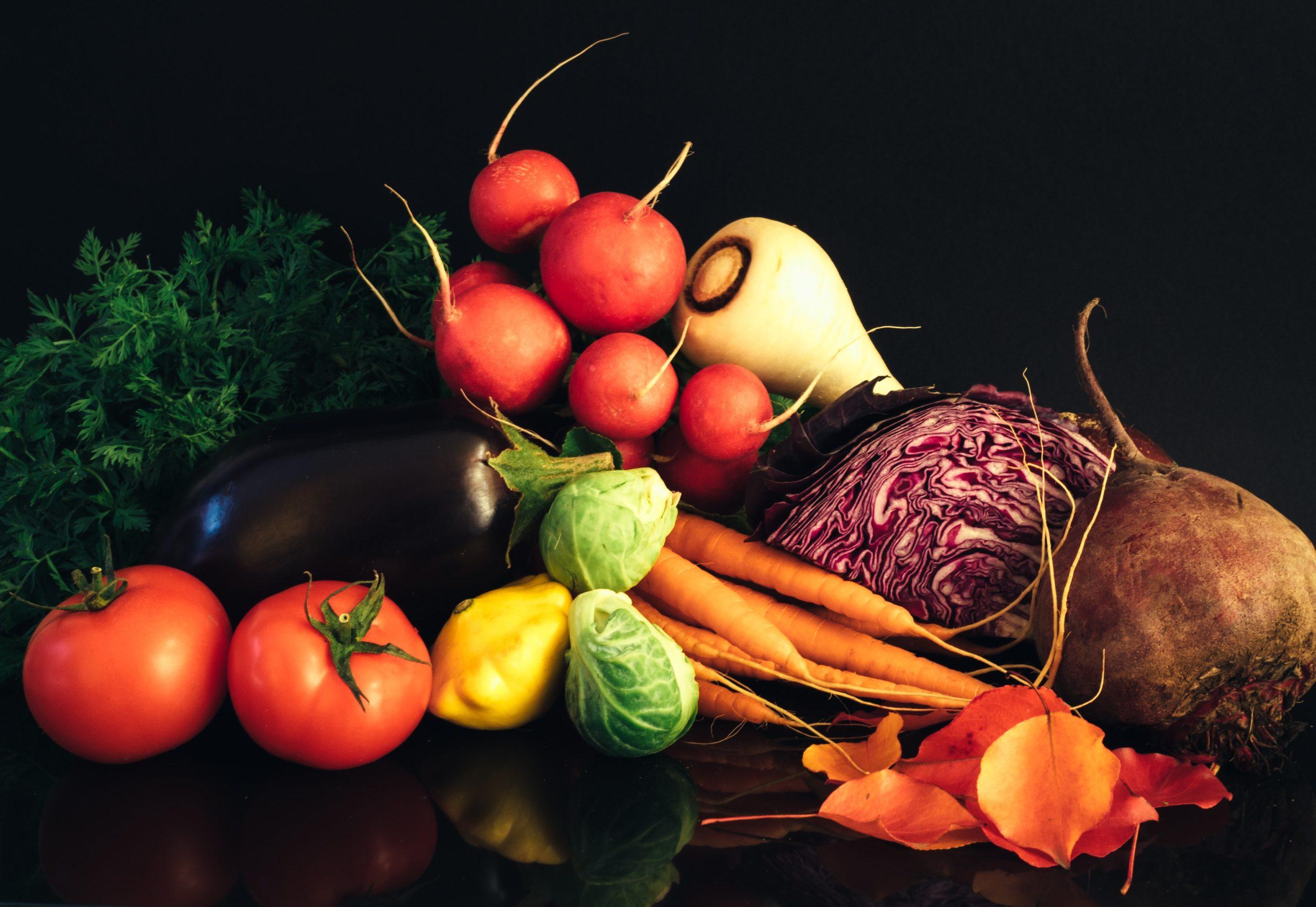 zelenina, vegan