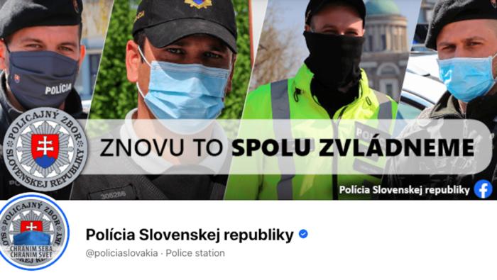polícia facebooku