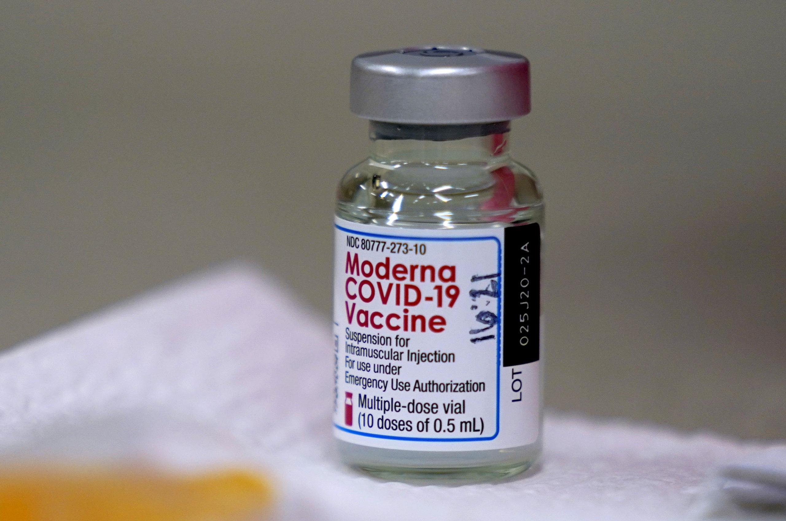 vakcína moderna