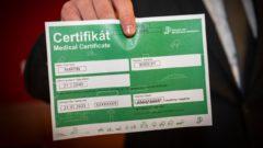 certifikat, testovanie