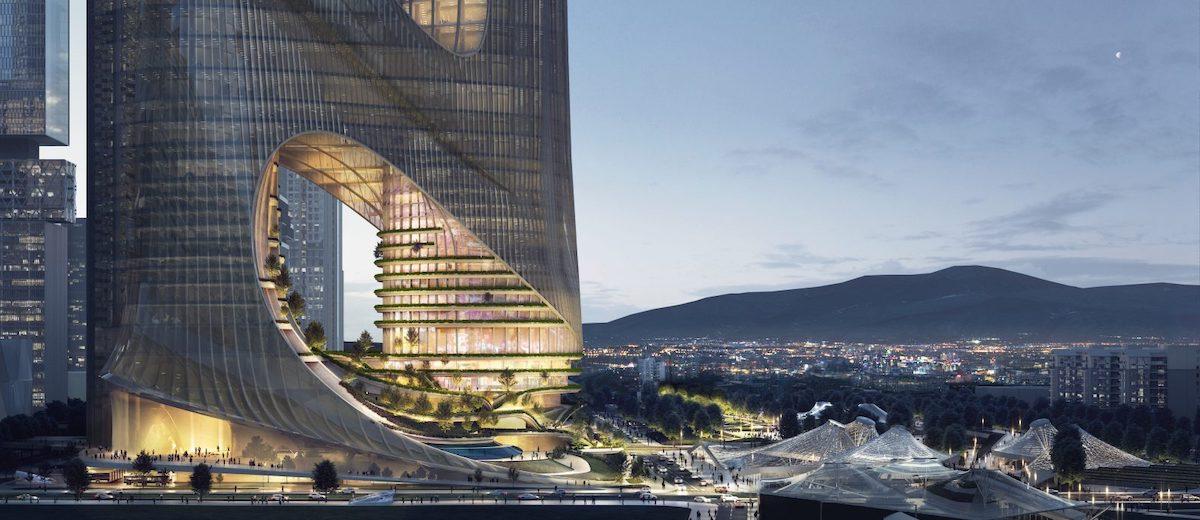 Zaha Hadid Architects, architektúra, hong kong, čína