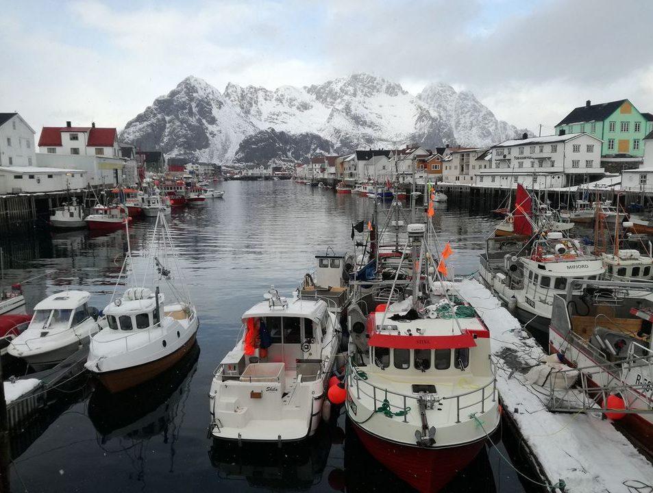 Ropná plošina Nórsko