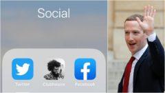 Clubouse, Facebook, social media