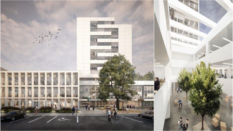 Interpolis, architektúra, kancelárie, office