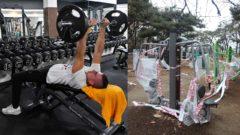 fitness centrá, cvičenie