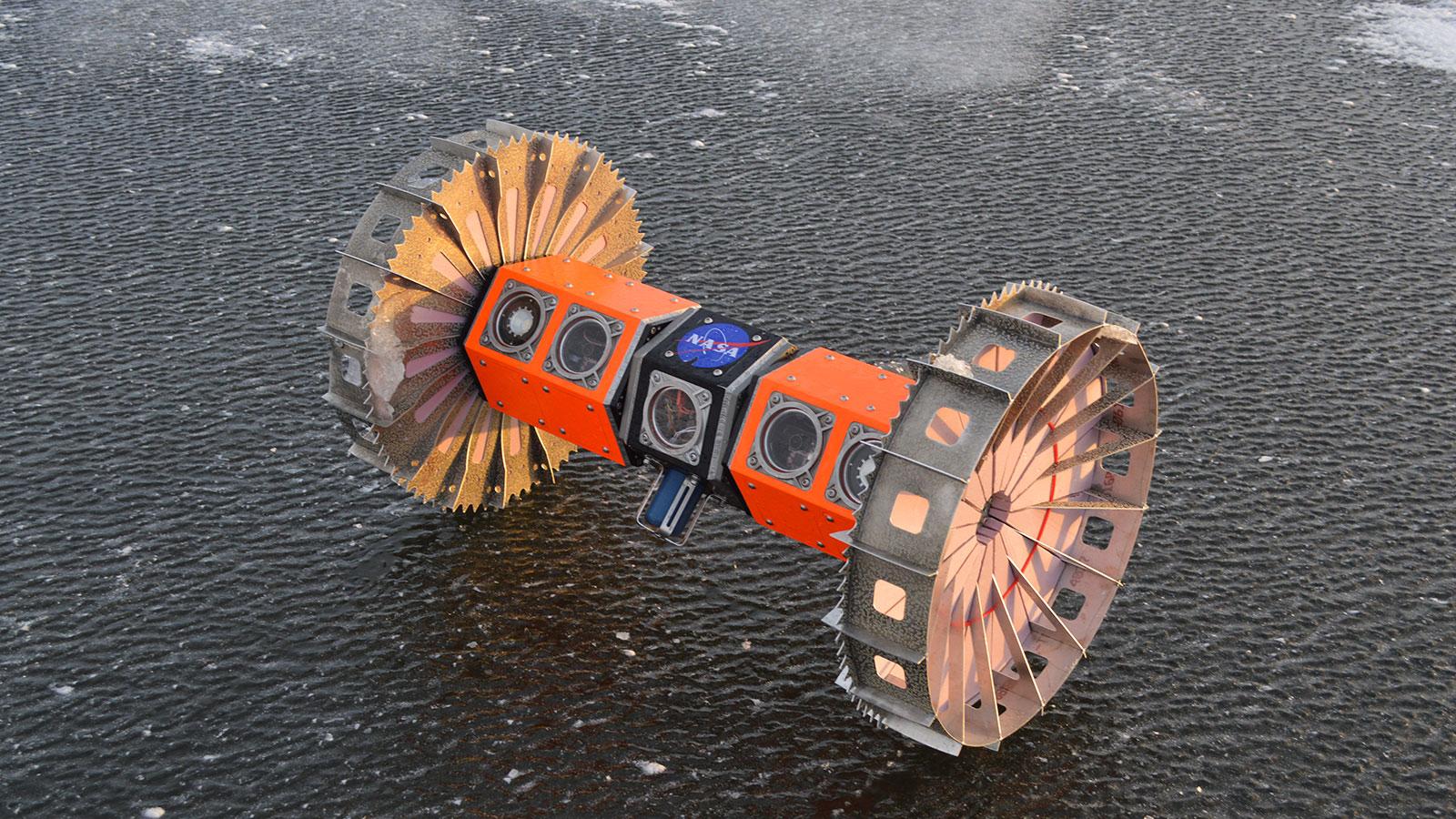 NASA/ BRUIE ROBOT