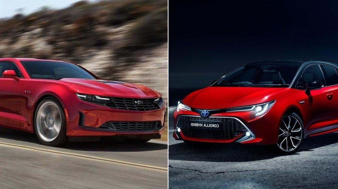 Chevrolet a Toyota