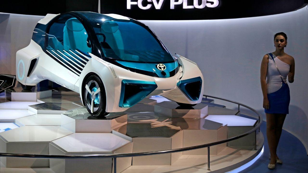 auto na vodíkový pohon