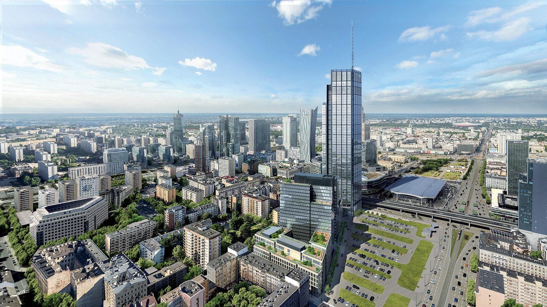architekrúra, Varšava, HB Reavis Varso Tower