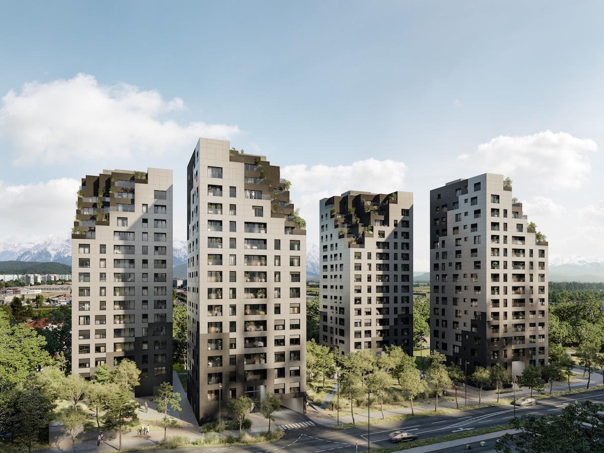 architektúra, zelená stavba, reality, byty