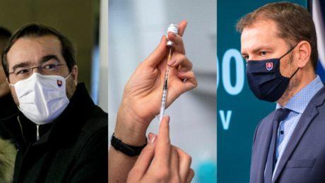 Matovič, Krajčí, vakcína