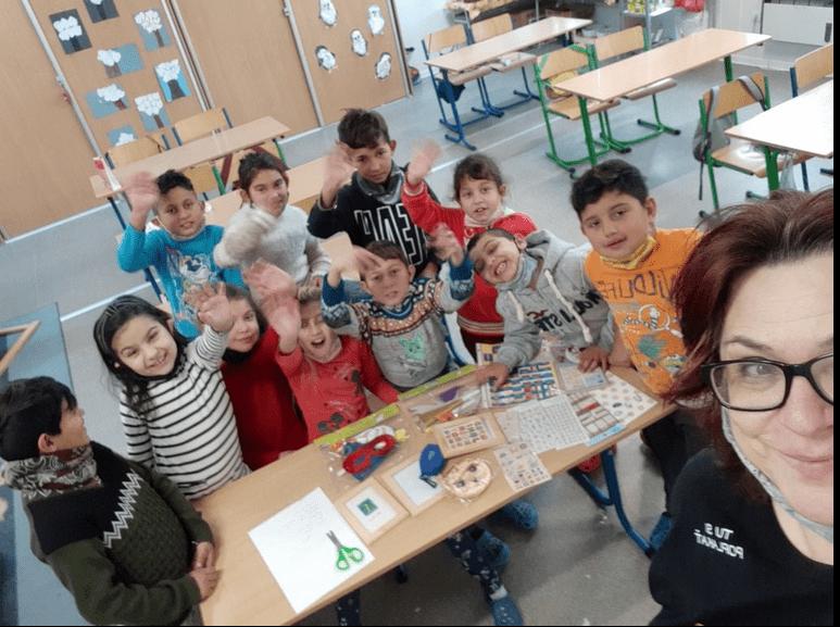 Deti počas vyučovania