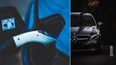 Mercedes elektromobily