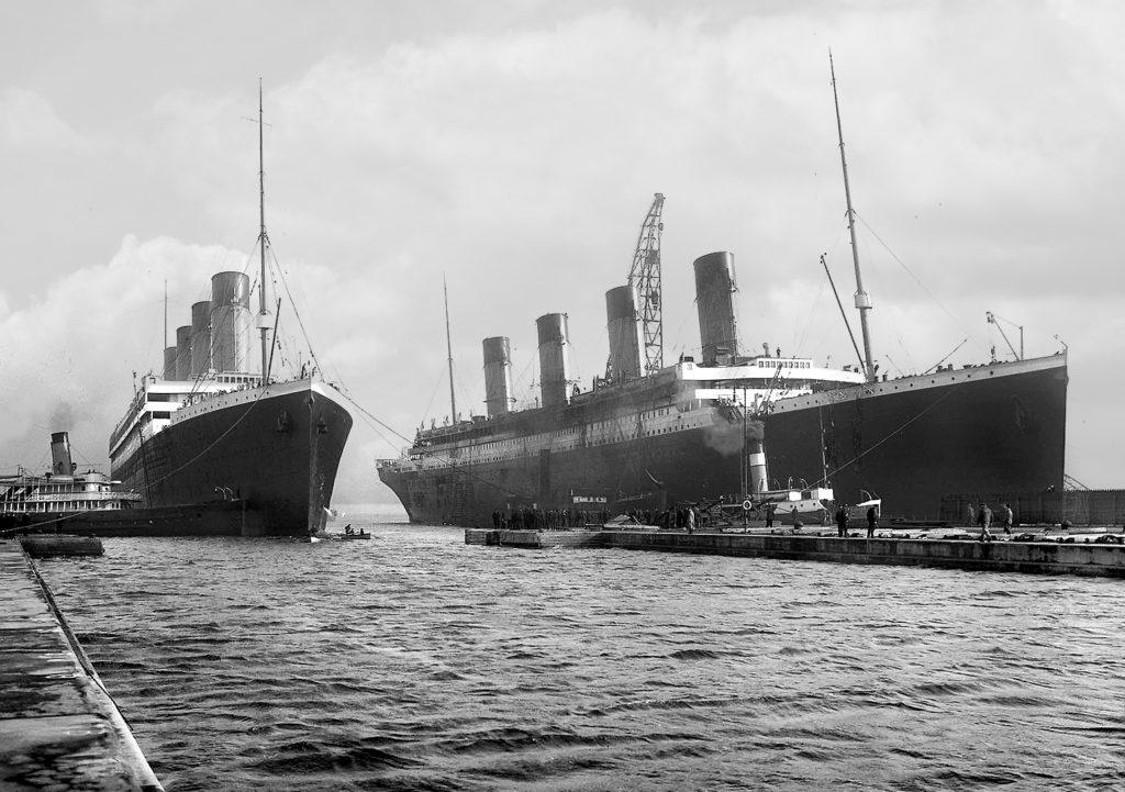Titanic a Olympic