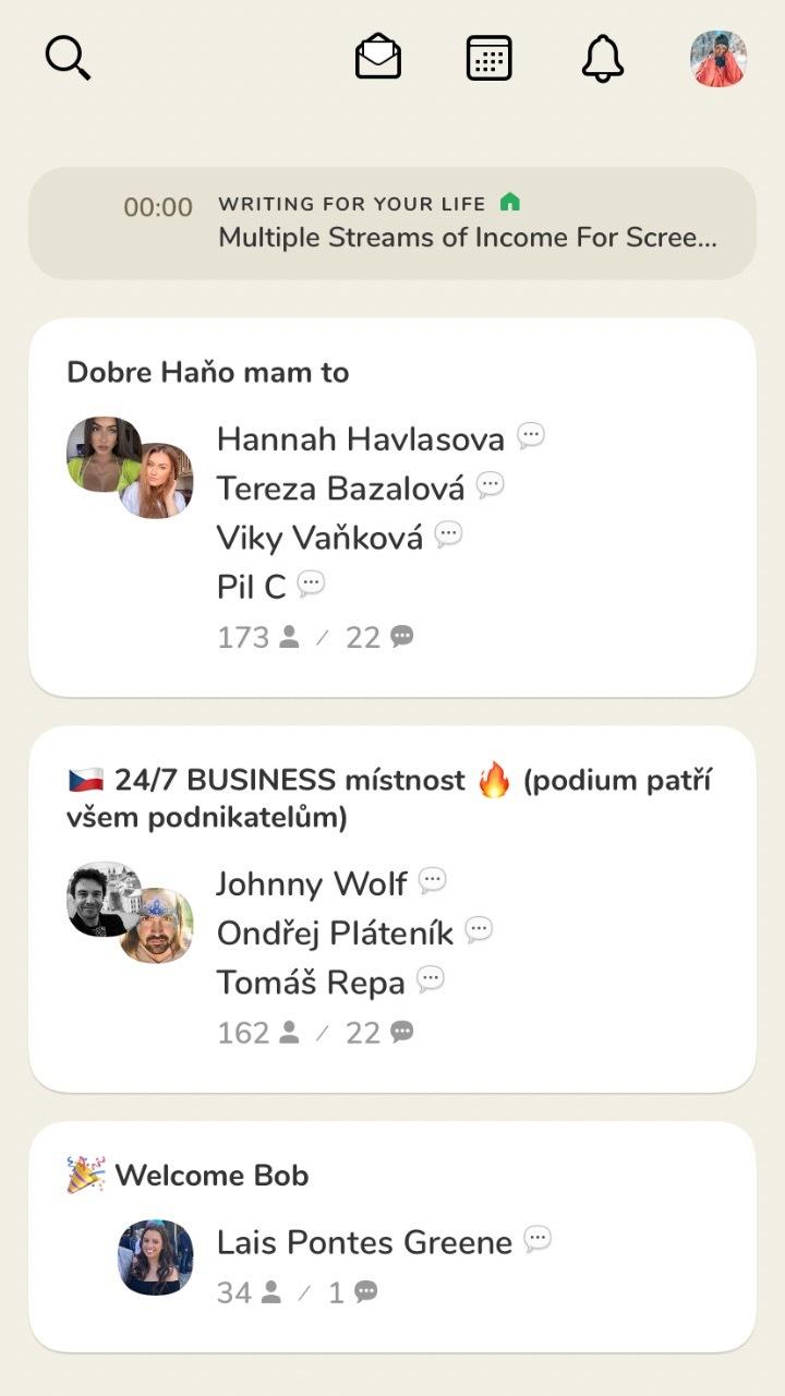 mobil aplikácia sociálne siete clubhouse