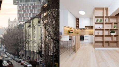 bývanie byty prenájom ceny Bratislava
