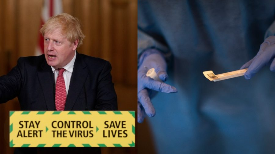 Británie, Johnson, covid