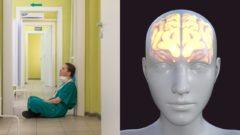 mozog, zdravotník, covid