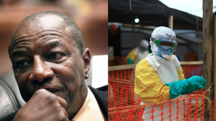 ebola, Guinea, prezident