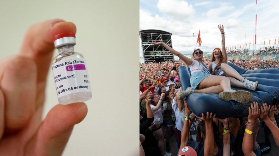 vakcína, festival Pohoda