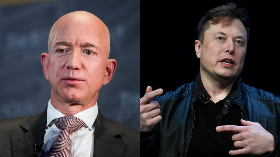 Bezos a Musk