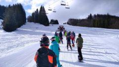 lyžovanie