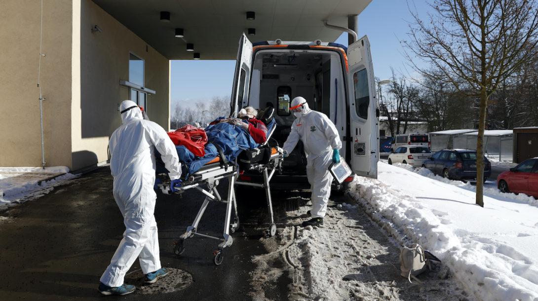koronavírus nemocnica pacienti úmrtia