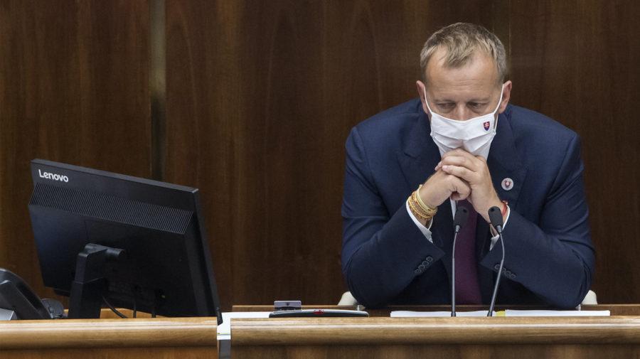 Boris Kollár parlament