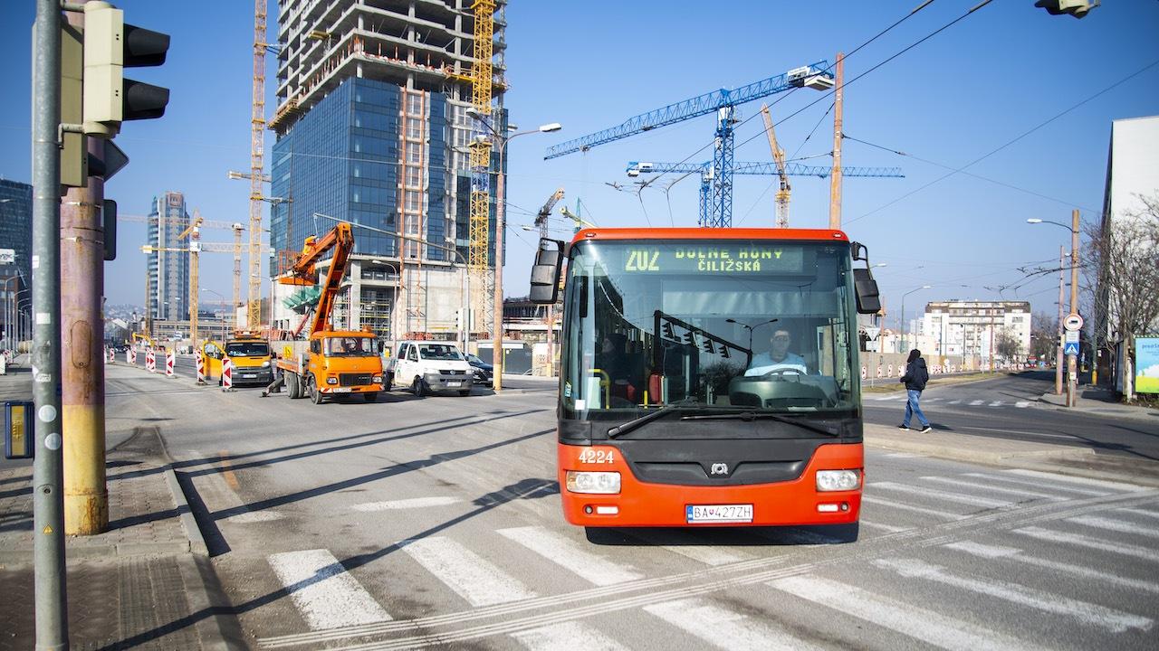 MHD Bratislava trolejbus