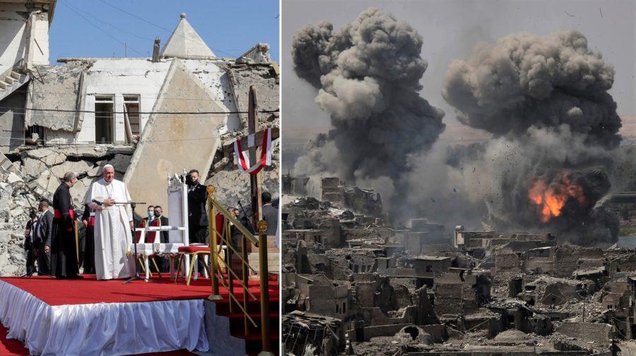 pápež František v Iraku, Mosul