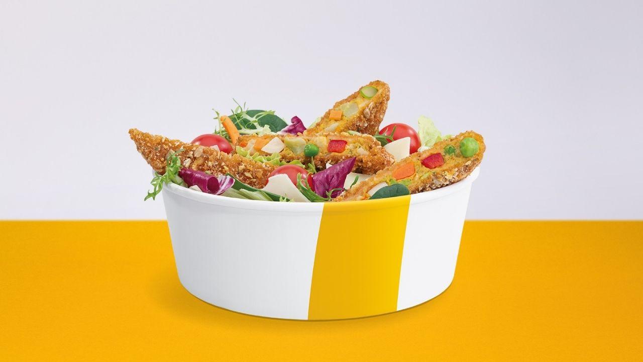 Veggie šalát McDonald's