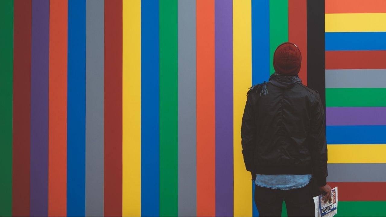 farebné pásiky