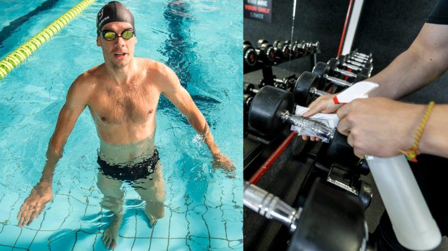 sport, plavanie
