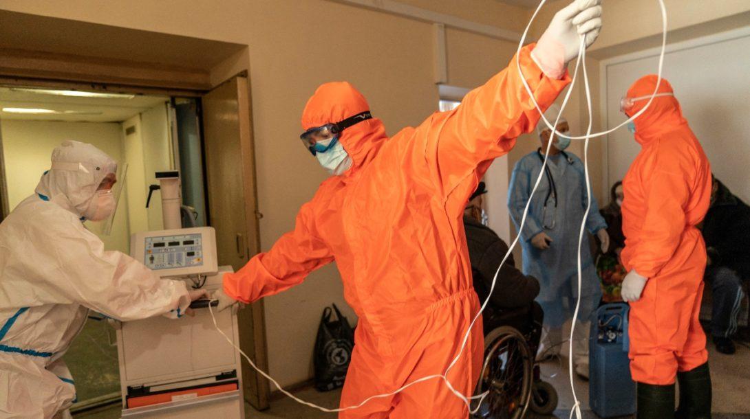 pandemia, koronavirus, nemocnica