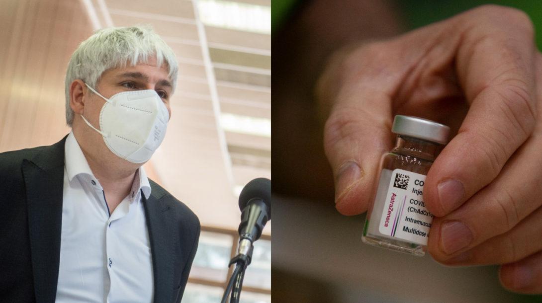 Pavol Čekan, vakcína