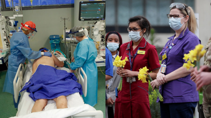 Nemocnice, spomienka na zomrelych