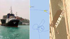 Zablokovanie Suezského prieplavu