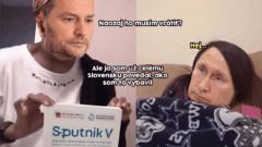 matovič meme sputnik