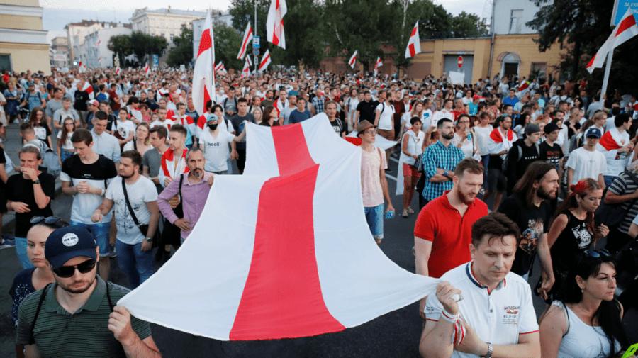 Bielorusi protesty