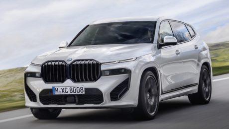 BMW X8 mockup